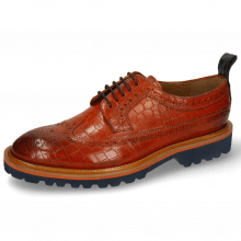 Derby Schuhe Matthew 23 Crock Winter Orange