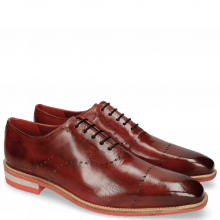 Oxford Schuhe Lance 40 Ruby Lasercut Crown