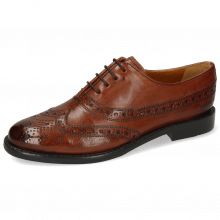 Oxford Schuhe Selina 8 Pisa Classic Brown