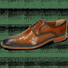 Derby Schuhe Martin 1 Venice Crock Tan Shade Wind