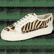 Sneakers Amber 2 Venice White Hairon Tanzania Zebra