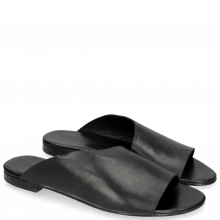 Pantoletten Hanna 40 Nappa Black