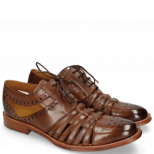 Derby Schuhe Phil 14 Mid Brown LS
