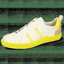 Sneakers Harvey 31 Vegas White Fluo Yellow TC Natural
