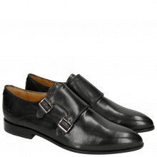 Monk Schuhe Jessy 7 Black