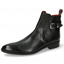 Stiefeletten Toni 35 Pavia Black Loop Lining Red