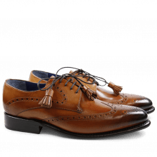 Derby Schuhe Kirk 1 Norway Tan LS