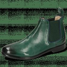 Stiefeletten Selina 48 Imola Dark Green Binding Navy