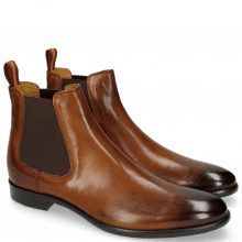 Stiefeletten Clint 7 Wood Elastic Dark Brown