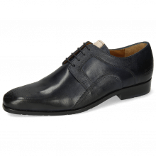 Derby Schuhe Rico 37 Rio Navy Little Scotch