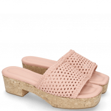 Pantoletten Elodie 26 Mignon Sheep Rose