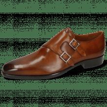 Monk Schuhe Lance 48 Wood Lining Nappa