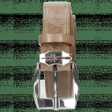 Gürtel Larry 1 Light Grey Sword Buckle