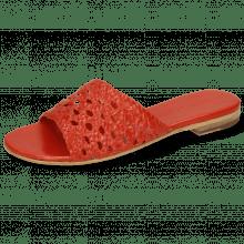 Pantoletten Hanna 5 Red