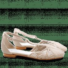 Ballerinas Cecil 1 Woven Lila LS