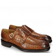 Monk Schuhe Parker 2 Crock Wood