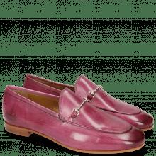 Loafers Scarlett 1 Fuxia Trim Gold
