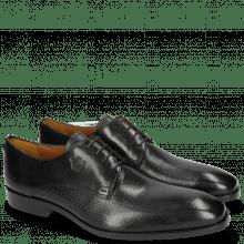 Derby Schuhe Greg 4 Venice Dice Black