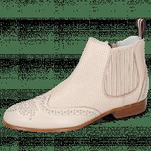 Stiefeletten Sandy 4 Nappa Glove Perfo Pink Salt