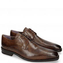 Derby Schuhe Lance 8 Scotch Grain Chestnut