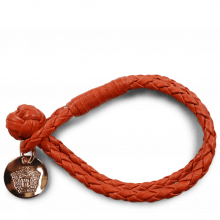 Armbänder Caro 1 Woven Winter Orange Accessory Rose Gold