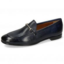 Loafers Scarlett 22 Pisa Navy Trim Gold