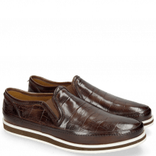 Loafers Harry 2 Turtle Dark Brown Modica Off White