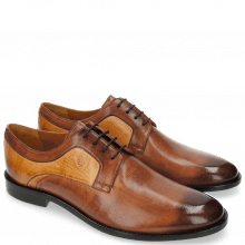 Derby Schuhe Tim 5 Berlin Wood Sand LS Brown