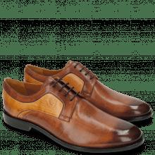 Derby Schuhe Tim 5 Berlin Wood Sand LS Brown