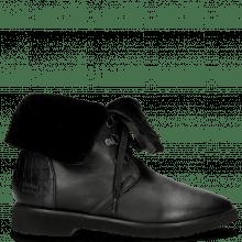 Stiefeletten Greta 1 Nappa Black Crock Black