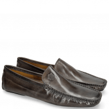 Loafers Home 1 Grigio Split Black