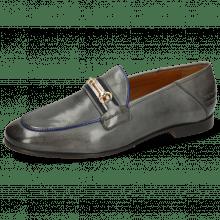 Loafers Scarlett 45 Monza Glicine Binding Electric Blue