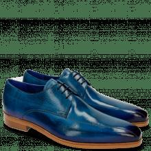 Derby Schuhe Lewis 10 Bluette Shade Eggplant