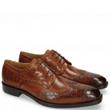 Derby Schuhe Jeff 1 Crock Tan