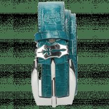Gürtel Larry 1 Crock Turquoise Sword Buckle