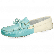 Loafers Caroline 8 Vegas Mermaid White