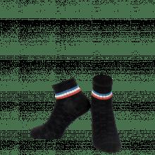 Socken Lorie 1 Ankle Socks Black Blue