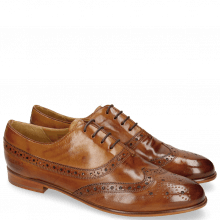 Oxford Schuhe Selina 8 Tan