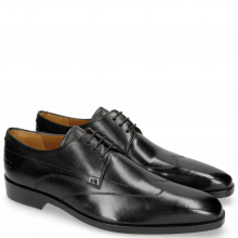 Derby Schuhe Lewis 9 Black Lining Rich Tan