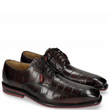 Derby Schuhe Marvin 19 Turtle Dark Black