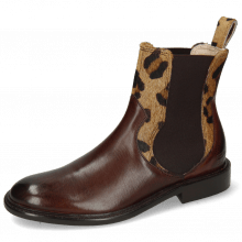 Stiefeletten Sally 113 Mogano Hairon Tanzania Wood