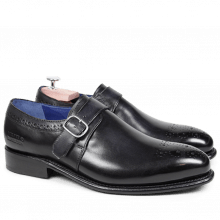 Monk Schuhe Charles 6 Crust Black LS