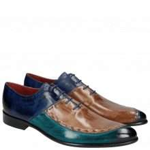 Oxford Schuhe Toni 15 Turquoise Cappu China Blue LS