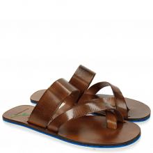 Sandalen Sam 15 Tan Embrodery Flower
