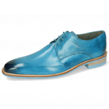 Derby Schuhe Lance 24 Imola Turquoise