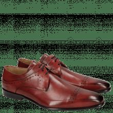 Derby Schuhe Ethan 14 Ruby Black Lining