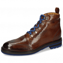 Stiefeletten Trevor 5 Mid Brown Laces Blue