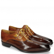 Oxford Schuhe Lance 42 Mid Brown