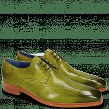 Derby Schuhe Lewis 9 Verde Gi