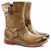 Stiefel Holly 7 Classic Camel WL Red